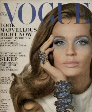Veruschka on the cover of Vogue4.jpg